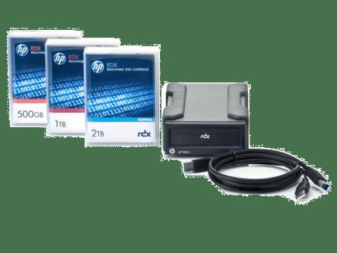 Hpe Rdx 2tb Usb 3 0 External Disk Backup System 2tb